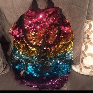 2012 VS pink fashion show backpack